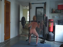 Milf Working Out Naked - Watch Part2 on CAM26,COM