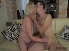 Dirty Granny Fucked by a Stud