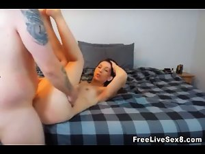 Sexy Hot Couple Do Awesome Live Sex