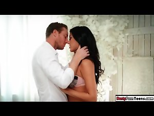 Sexy latina seducing a guy and then riding him