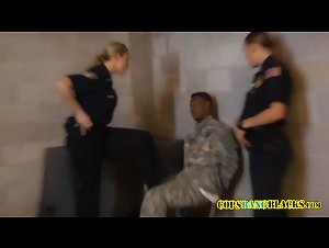 Fake soldier is stripped down by cops